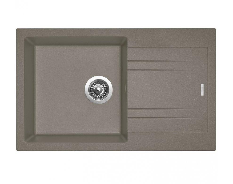 SET drez granit Sinks LINEA 780 N Truffle + batéria ENIGMA S GR