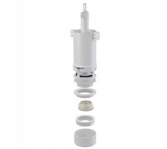 splachovací ventil pre vysoko položenú plastovú nádržku