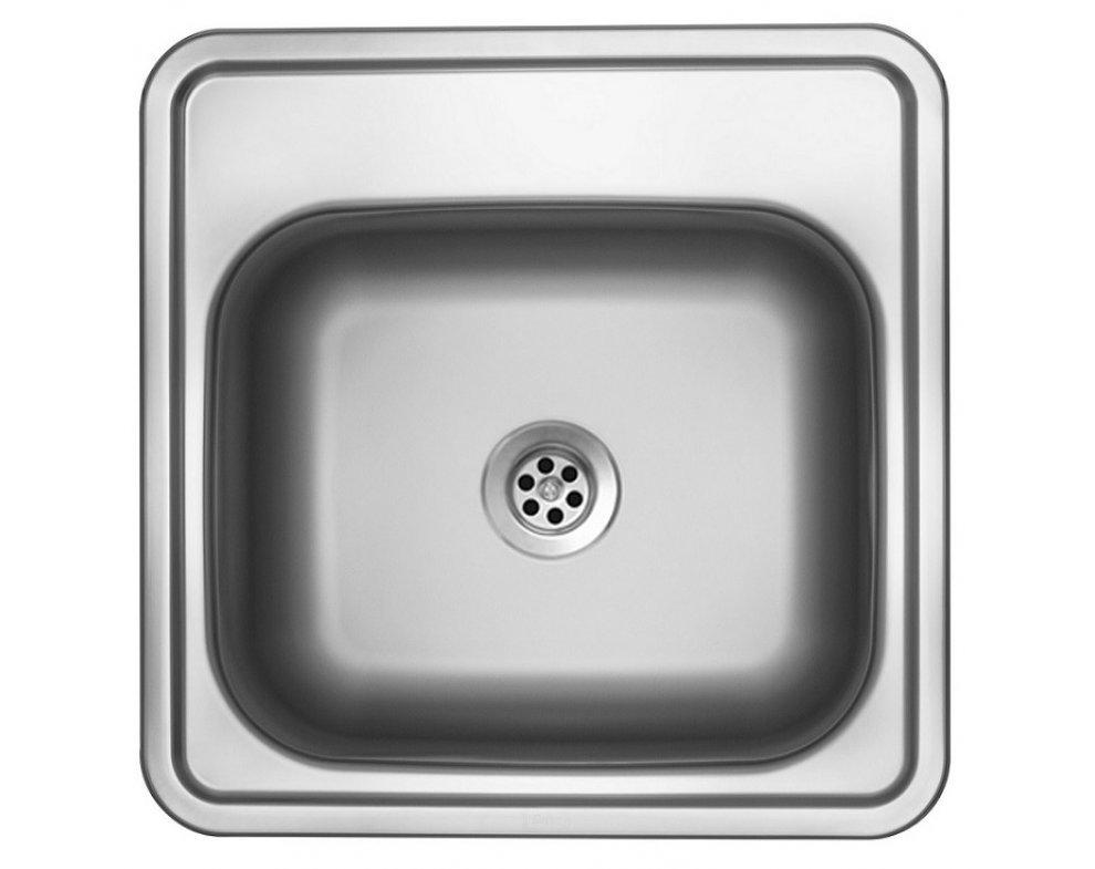 drez nerezový Sinks BAR 380 M 0,6mm matný (s prepadom)