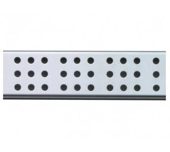 Rošt pre líniový podlahový žľab, 1050mm, CUBE, matný