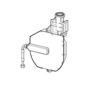 5306 0200 Samostatné vstavané teleso Rollbox pre montáž na okraj vane