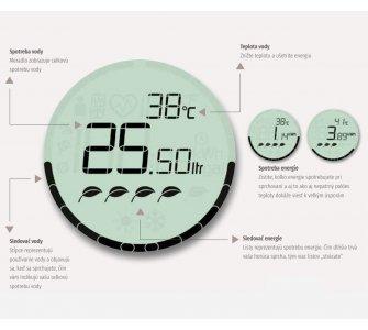 ručná sprcha 1-polohová, d 120 mm, Bluetooth, HANSAACTIVEJET Digital, chróm