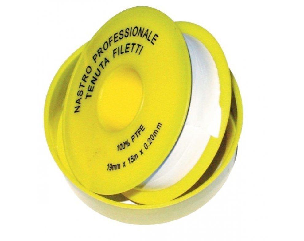 teflónová páska, hrubá, PROFI - 19mm x 0, 2mm x 15m