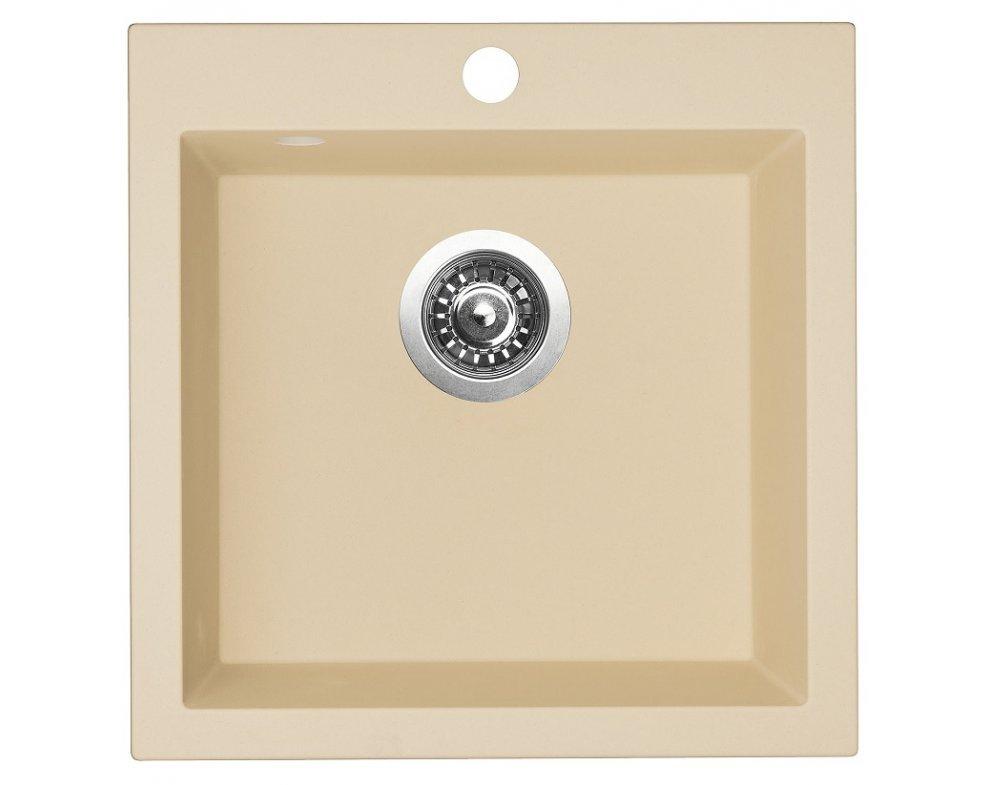 SET drez granit Sinks VIVA 455 Sahara + batéria ENIGMA S GR