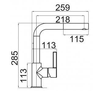 SET drez granit Sinks PERFECTO 860 Sahara + batéria ENIGMA S GR