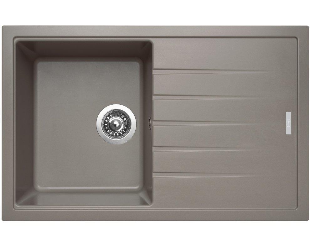 SET granit Sinks BEST 780 Truffle+MIX 350P