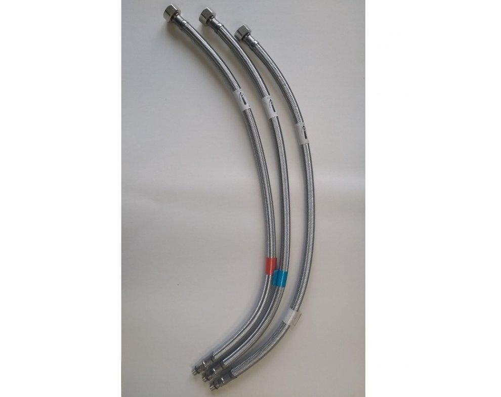 náhradné flexi prípojné hadice do batérií SOLIS, dĺžka 50cm, sada obsahuje 3ks