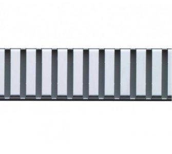 Rošt pre líniový podlahový žľab, 650mm, LINE, matný