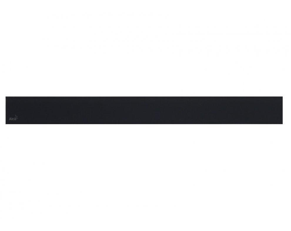 GLASS – Rošt pre líniový podlahový žľab, sklo-čierna