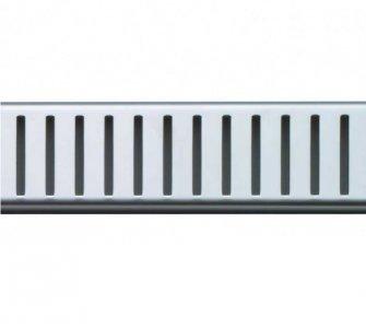Rošt pre líniový podlahový žľab, 550mm, PURE, lesklý