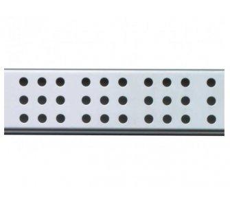Rošt pre líniový podlahový žľab, 550mm, CUBE, lesklý