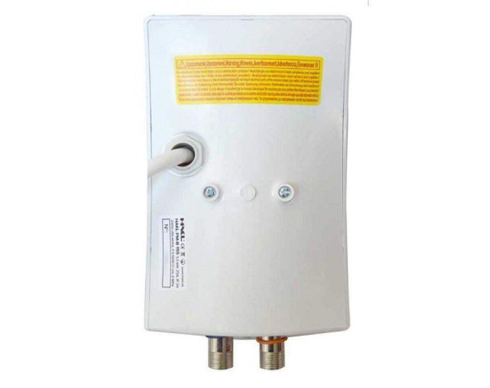 elektrický prietokový ohrievač vody PM 5,5kW s drezovou stenovou pákovou batériou SOLIS