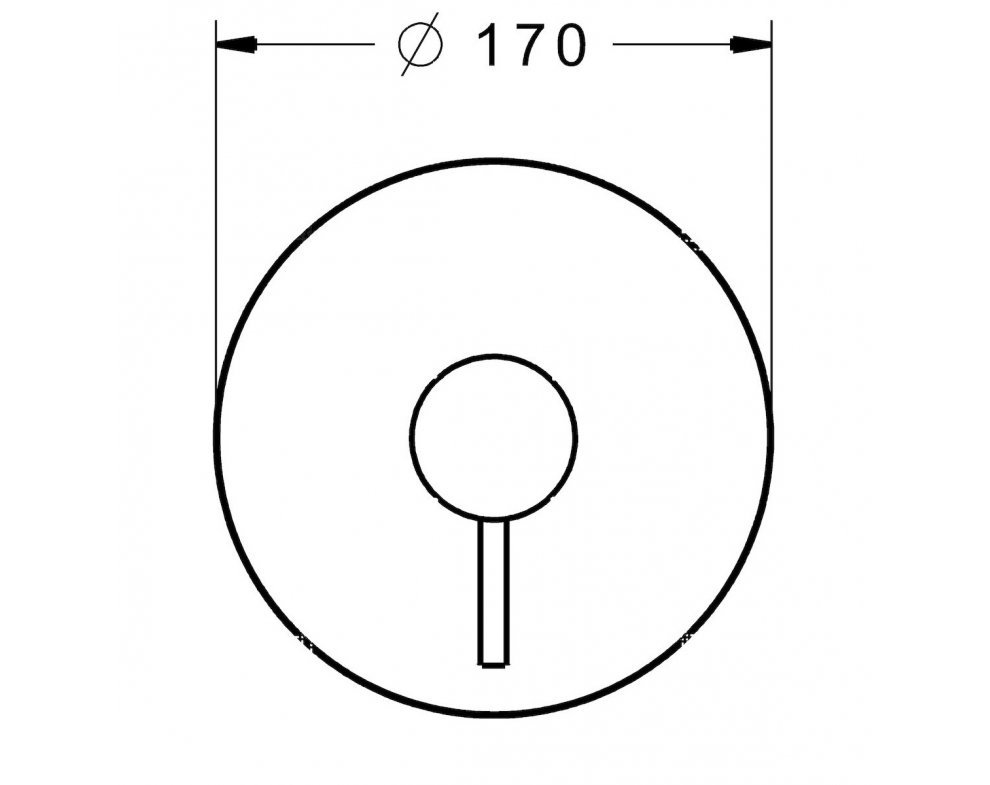 4785 9041 sprchová podomietková bat. bez tela, STELA