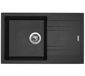 drez granitový Sinks LINEA 780 N Metalblack
