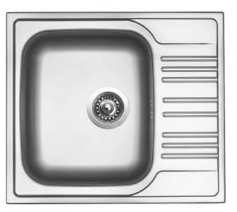 SET nerez Sinks STAR 580 V+VITALIA
