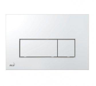 THIN - Ovládacie tlačítko pre predstenové inštalačné systémy, chróm-lesk