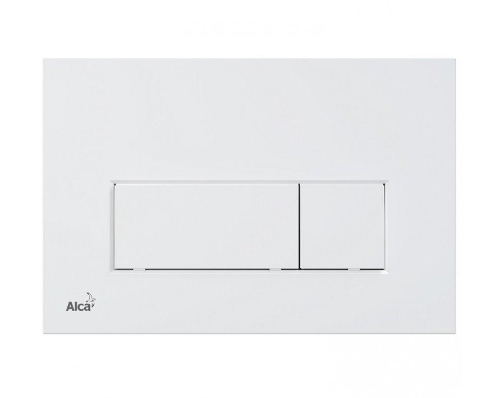 THIN - Ovládacie tlačítko pre predstenové inštalačné systémy, biela-mat