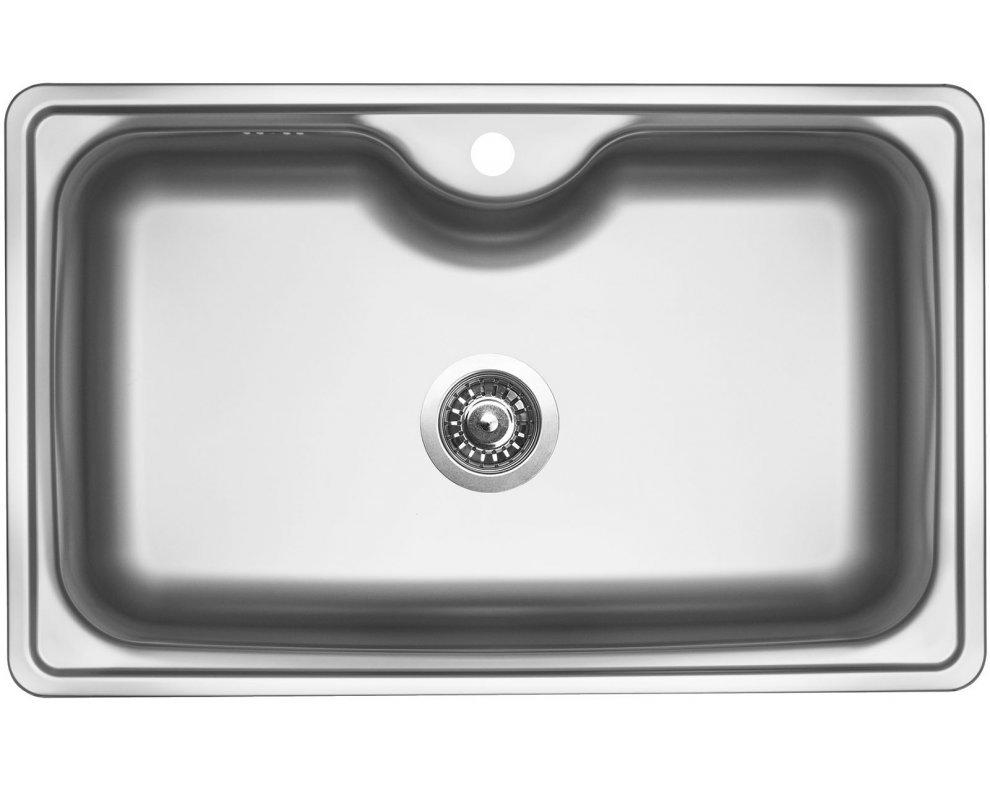 drez nerezový Sinks BIGGER 800 V 0,8mm matný