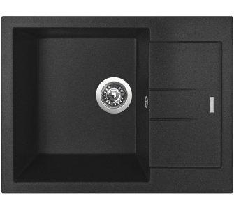 drez granitový Sinks AMANDA 650 Metalblack