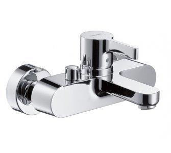 batéria vaňová stenová s prepínačom vaňa/sprcha, METRIS S, chróm