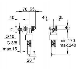 napúšťací ventil