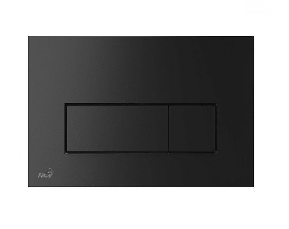 THIN - Ovládacie tlačítko pre predstenové inštalačné systémy, čierna-mat