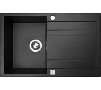 drez granitový Sinks GRANDE 800 Metalblack