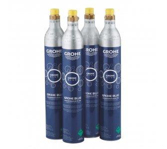 Tlaková fľaša CO2 425g pre Grohe Blue (4ks)
