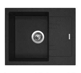 SET granit Sinks LINEA 600 N Granblack+VITALIA GR