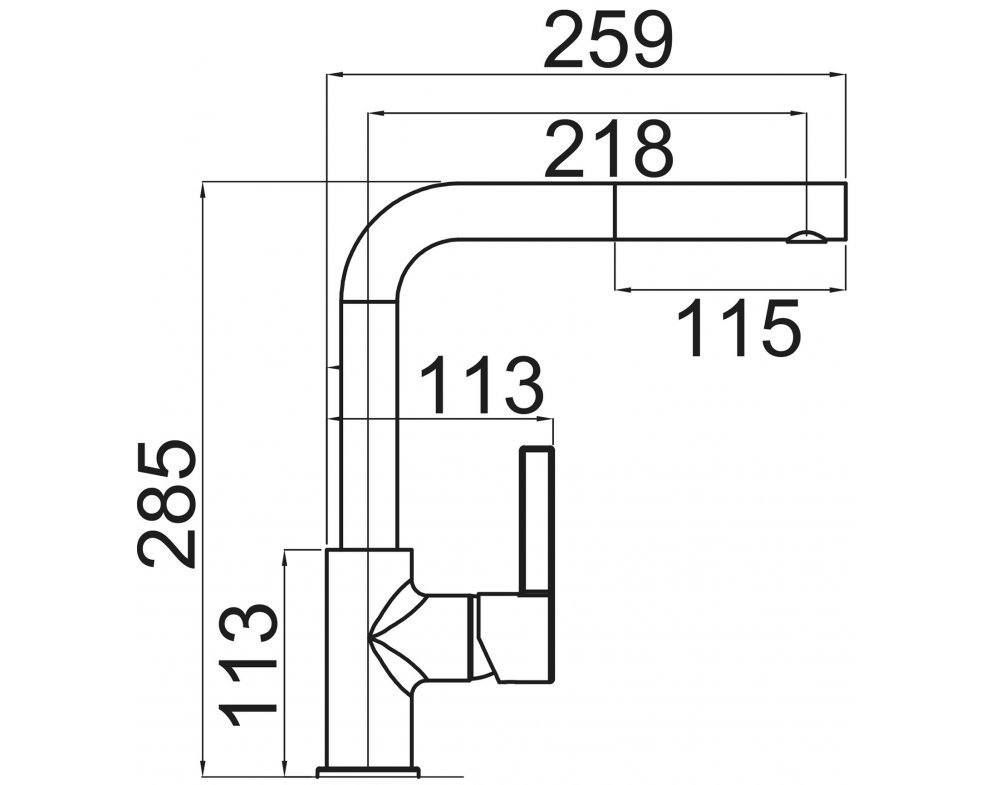 batéria drezová granitová Sinks ENIGMA S - 72 Titanium