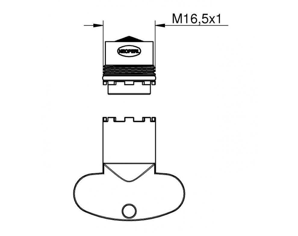 Perlátor M16,5x1 5l/min