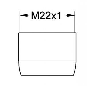 Perlátor M22x1, 15,0 l/min, chróm