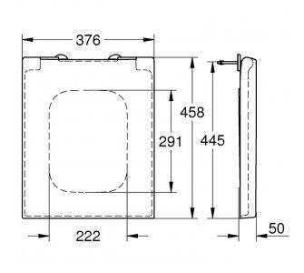 WC sedátko so sklápaním SoftClose, duroplast, alpská biela