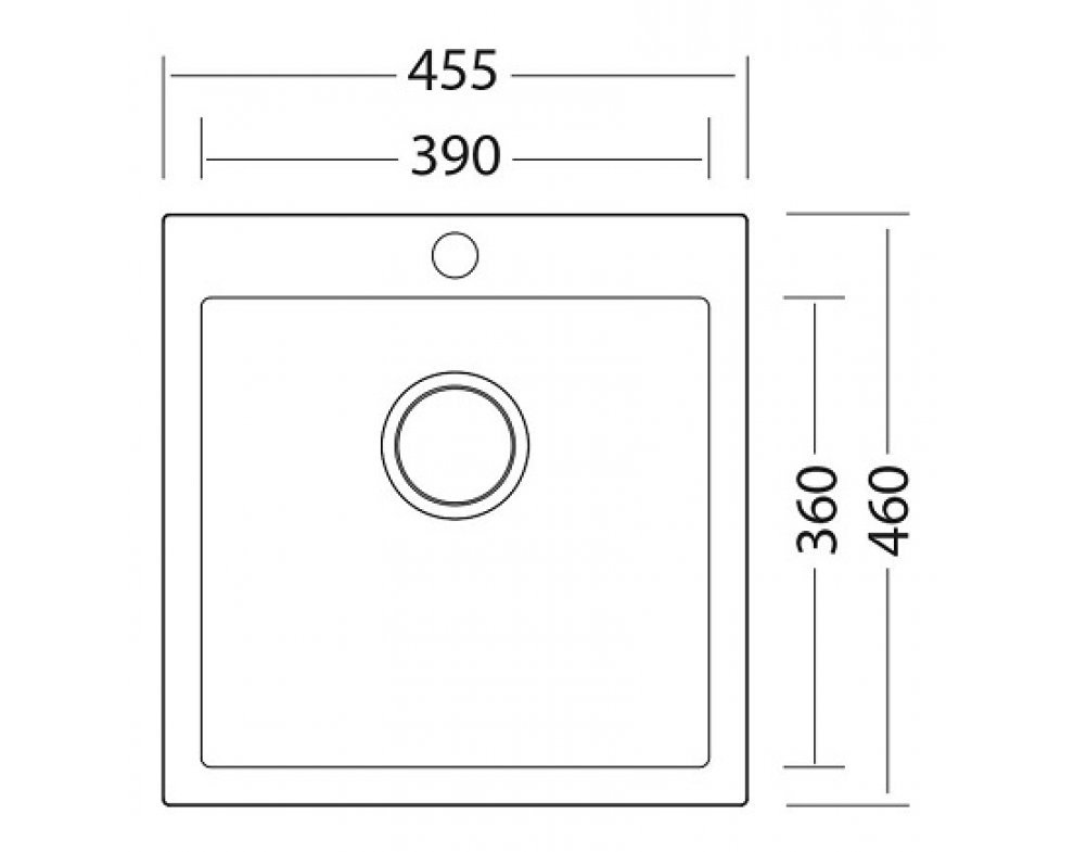 SET granit Sinks VIVA 455 Sahara+LEGENDA S GR