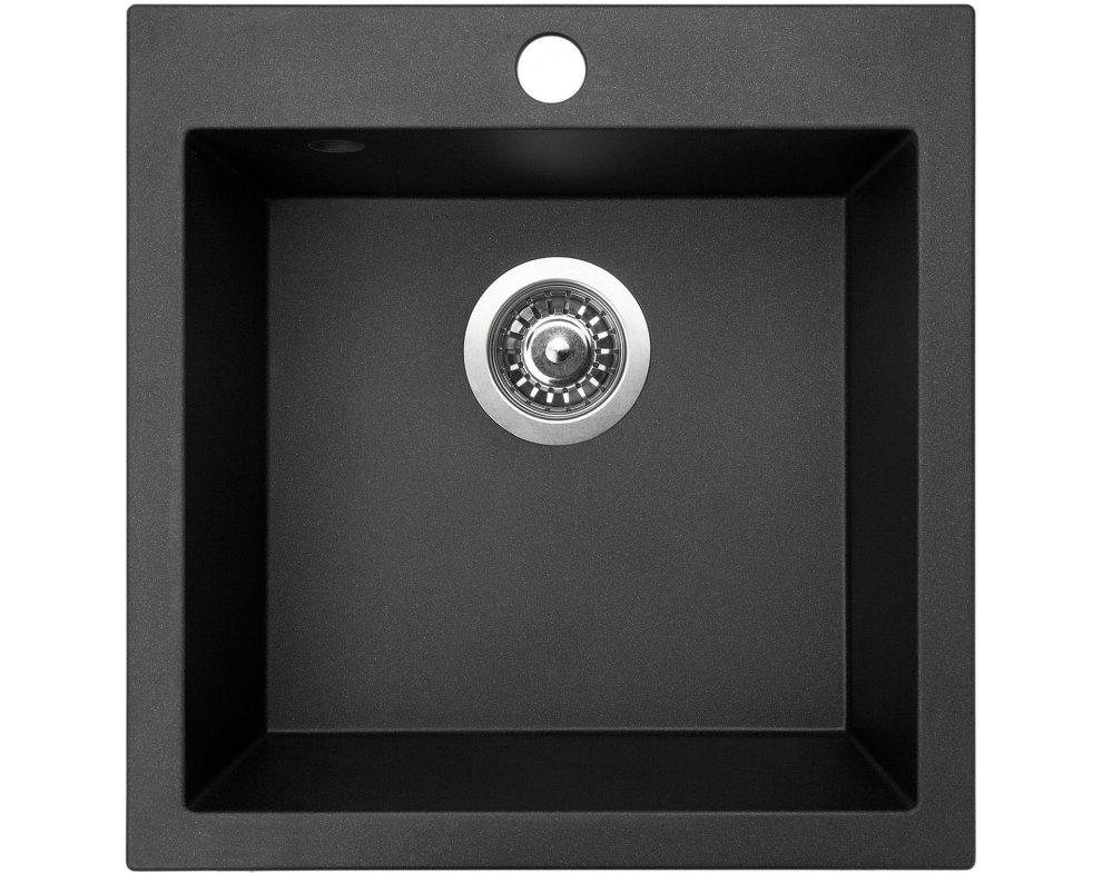 drez granitový Sinks VIVA 455 Metalblack