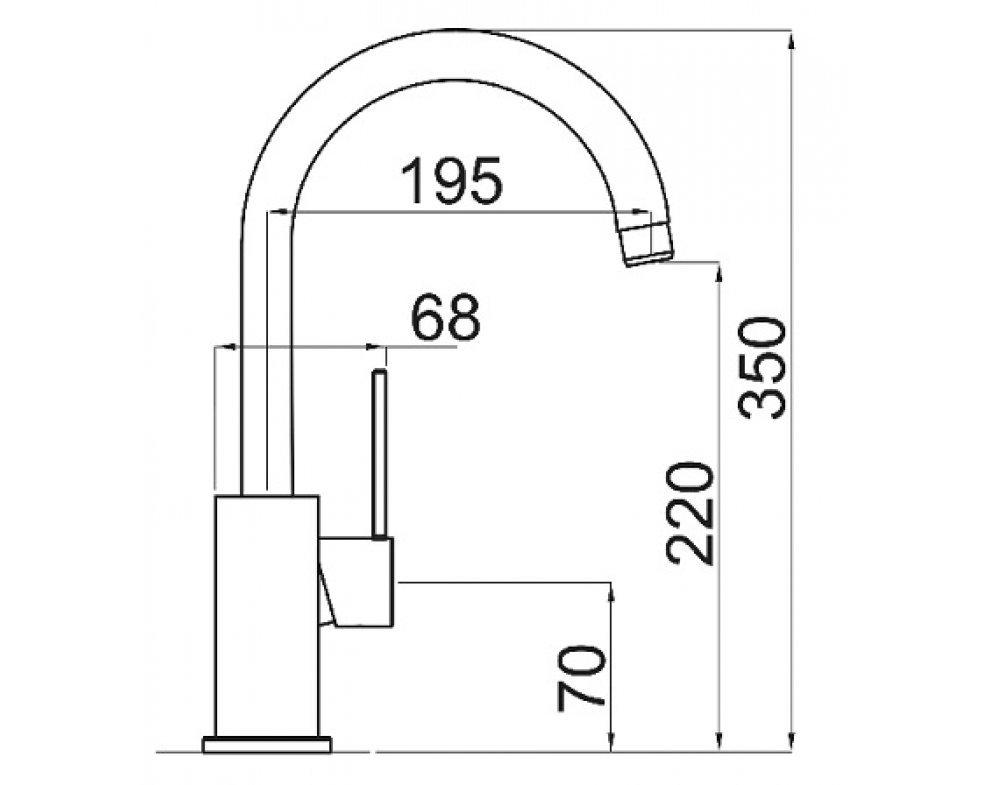 SET nerez Sinks STAR 780 V+VITALIA