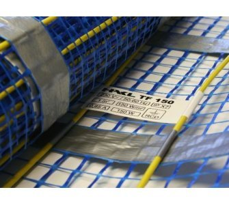 HAKL - elektrická podlahová vykurovacia rohož pod dlažbu, šírka 0,5 m, dĺžka 2 m