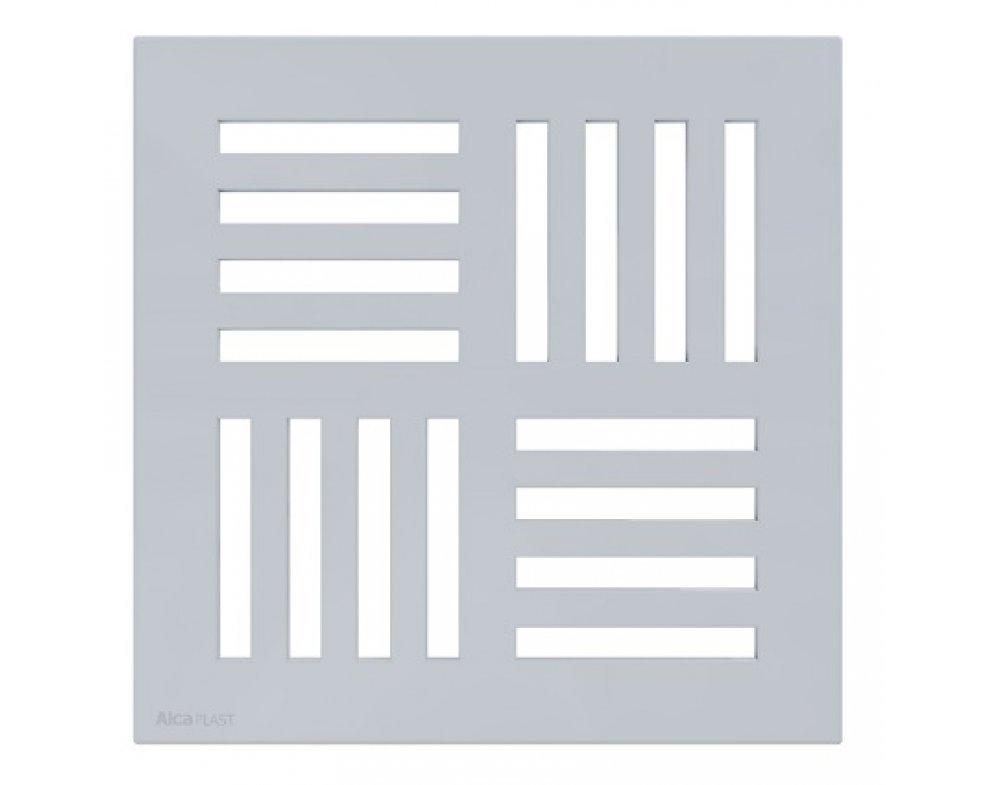 Mriežka 143 × 143 šedá