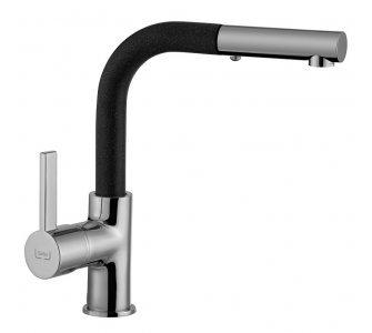 SET drez granit Sinks LINEA 600 N Granblack + batéria ENIGMA S GR