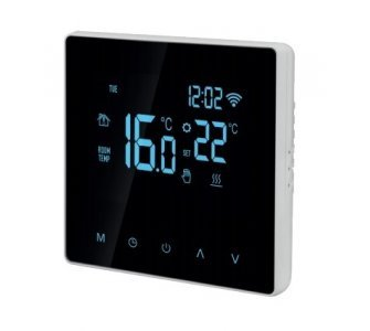Digitálny wifi termostat s dotykovým ovládaním a s predĺženým čidlom