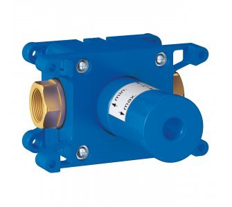 Základné teleso pre podomietkový ventil, RAPIDO C
