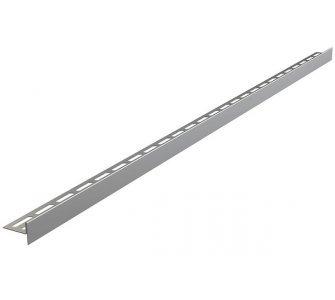 Nerezová lišta pre spádovanie podlahy obojstranná (dĺžka 1m, hrúbka dlažby 10mm, mat)