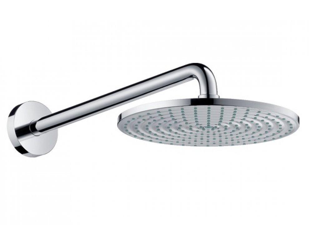 Tanierová horná sprcha Raindance priemer 240 mm so sprch. ramenom, chróm