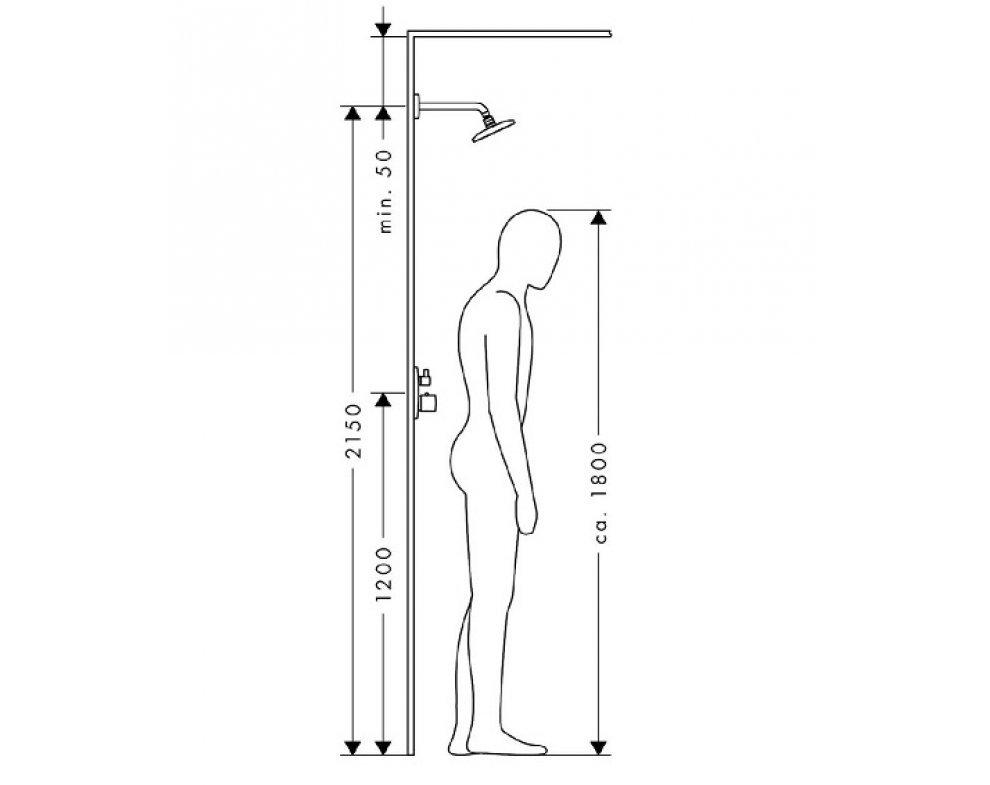 horná sprcha Raindance New E 360 AIR 1jet so sprchovým ramenom 223 mm, chróm