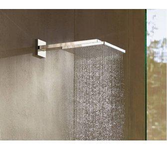 Horná sprcha 300 Air 1jet EcoSmart 9 l/min s ramenom 390 mm, chróm, Raindance E