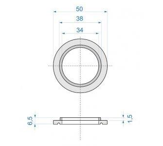 Podložka pod batériu PLUTO 3120, kovová