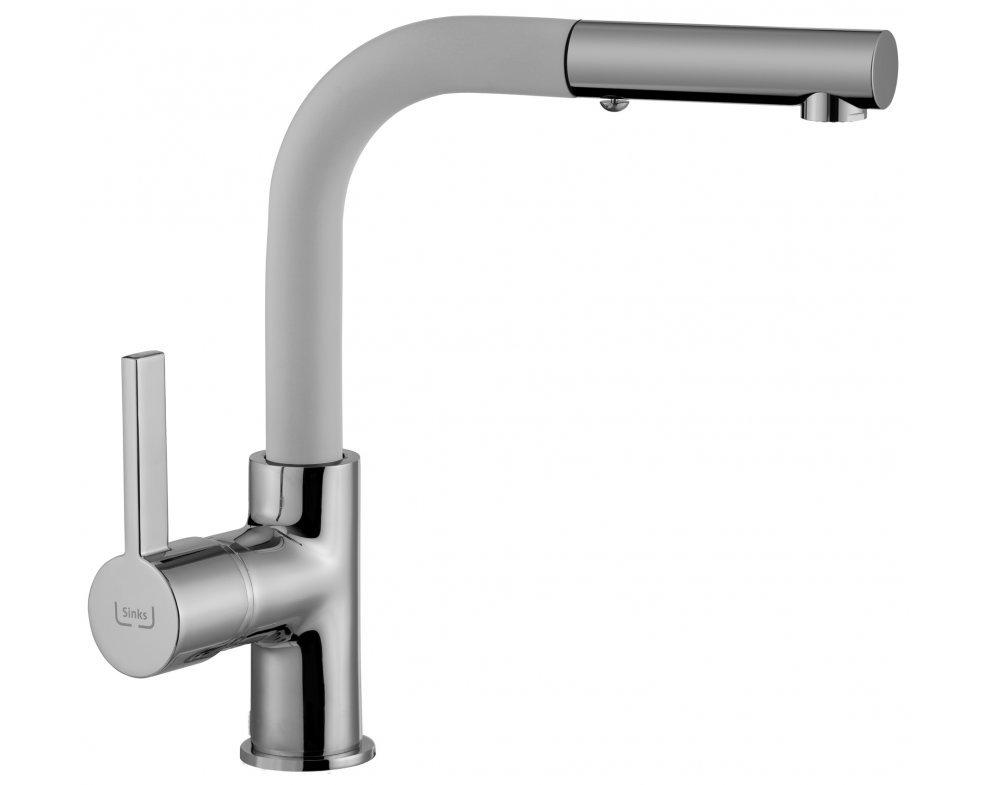 batéria drezová granitová Sinks ENIGMA S - 28 Milk