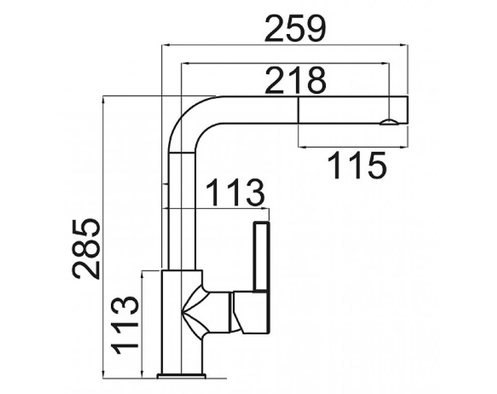 batéria drezová granitová Sinks ENIGMA S - 50 Sahara