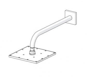 Hlavová sprcha 250x250 mm, so sprchovým ramenom, HANSAVIVA, chróm