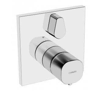 Batéria sprchová podomietková termostatická pre 2 odberné miesta, HANSALIVING